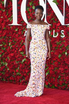 NEW YORK, NY - JUNE 12: Lupita Nyong'o attends the 70th Annual Tony Awards at The Beacon Theatre on June 12, 2016 in New York City. (Photo by Dimitrios Kambouris/Getty Images for Tony Awards Productions)