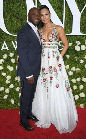 Taye Diggs and Amanza Smith Brown